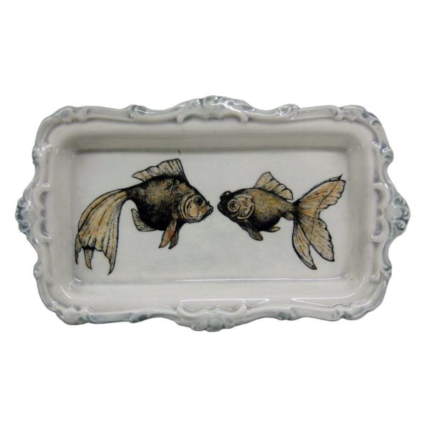 two-goldfish-plate