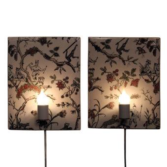 wanderlust-ceramics-asian-garden-sconce-pair-lit