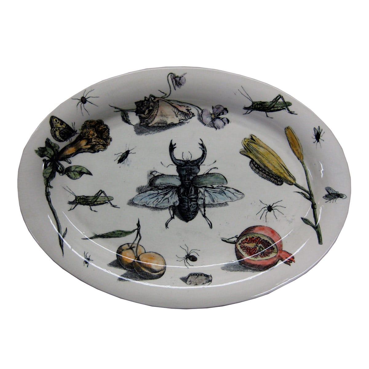 Flora Amp Fauna Platter Wanderlust Ceramics
